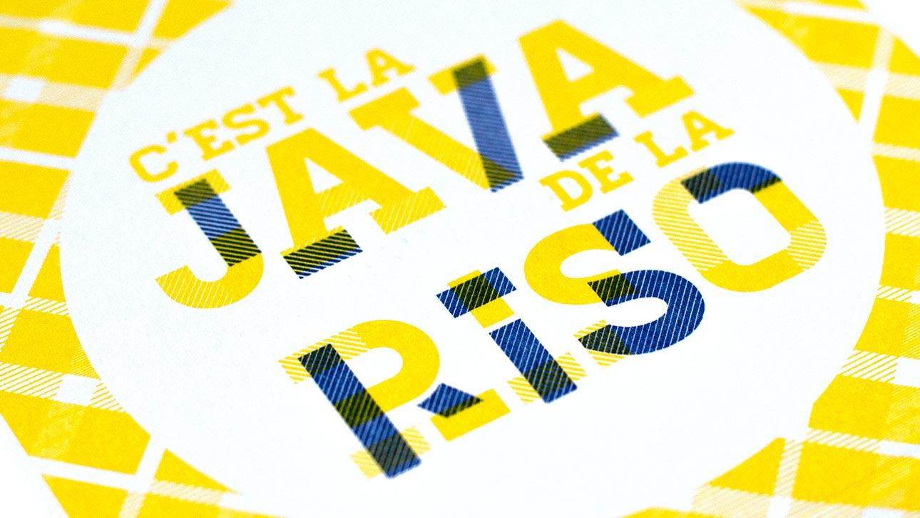 Java de la riso, événement de lancement de la Riso par l'agence Et Pourquoi Pas