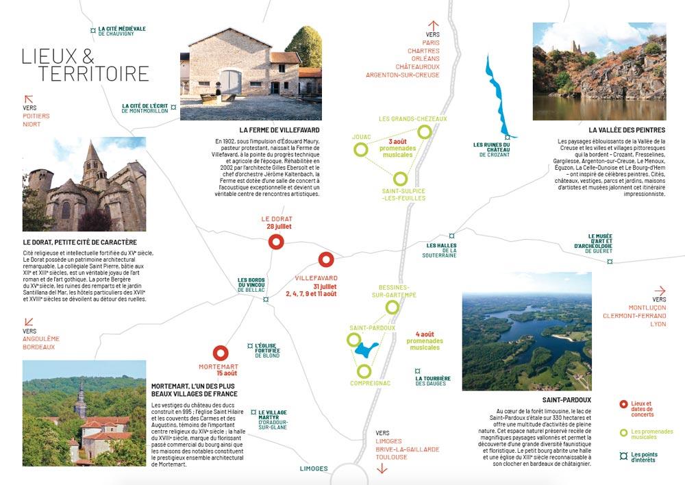 Carte du Festival du Haut Limousin